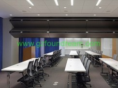 Conference room aluminum ceiling